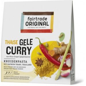 Gele Curry Kruidenpasta