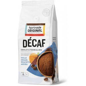 Koffie decaf, snelfilter