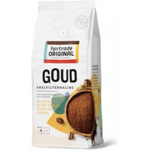 Koffie goud, snelfilter