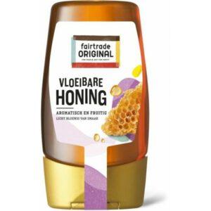 Vloeibare honing in knijpfles
