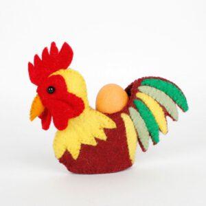Eierwarmer Haan multicolor