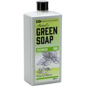 Marcels Green Soap Afwasmiddel Basilicum & Vertivert gras