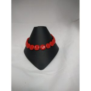 Kazuri: ketting PitaPat Bright Red
