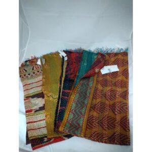 Sjaal hergebruikte zijde / diverse kleuren