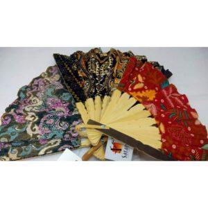 waaier batik assorti