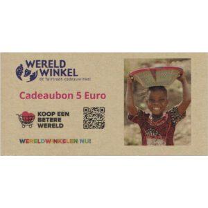 _cadeaubon 5 Euro
