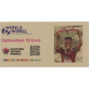 _cadeaubon 10 Euro
