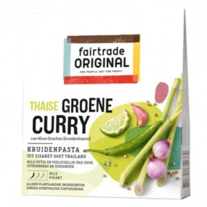 Groene Curry Kruidenpasta