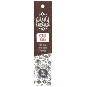 Gaia's insence: Cedarwood